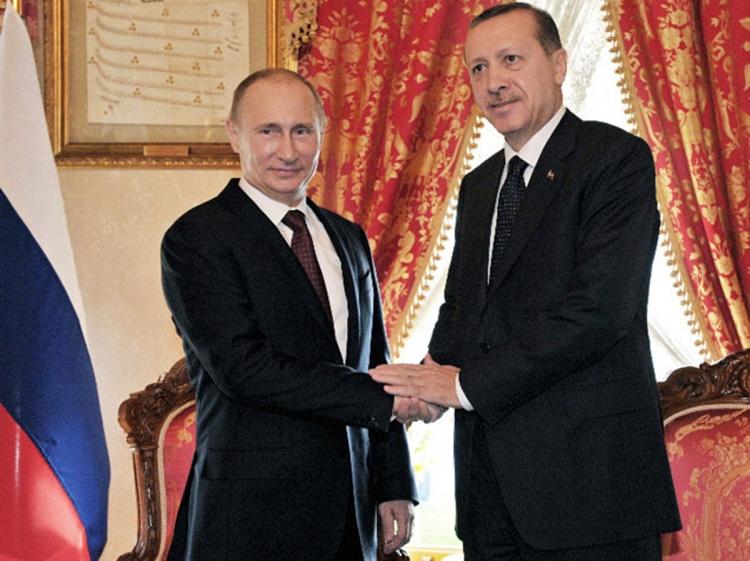 Ərdoğan Putinə məktub göndərib