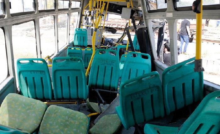 Bakıda daha bir avtobus qəzası: ölənlər var